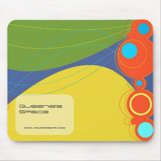 Retronation 04 Lime Designer Custom Mousepad