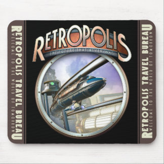 Retropolis Monorail Mouse Pad