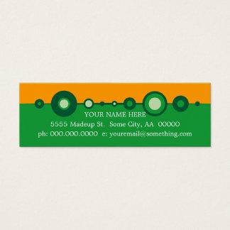 retrOs Mini Business Card