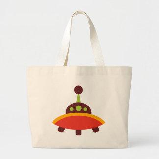 RetroSAliensO10 Jumbo Tote Bag