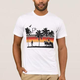 RetroSunsetBeach1 T-Shirt