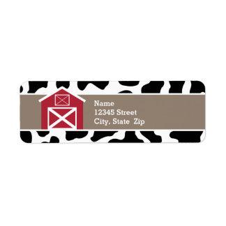 Return Address Labels - Farm