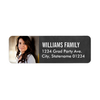 Return Address Labels | Graduate Photo Design