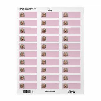 Return Address Labels of Cute baby