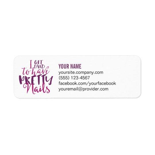 Return Address Labels or Catalogue Labels