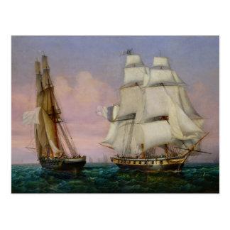 Return from Elba, c.1852 Postcard