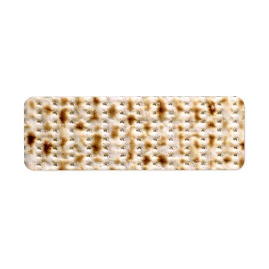 Return Labels - Custom Jewish Matzo Avery