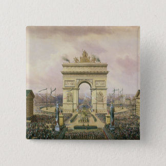 Return of the Ashes of the Emperor to Paris 15 Cm Square Badge