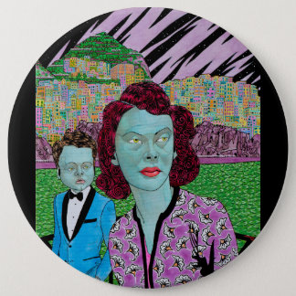 RETURN OF THE GREEN LADY 6 CM ROUND BADGE
