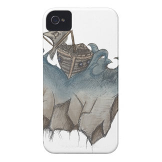 Return of The Lucky Tiger iPhone 4 Case