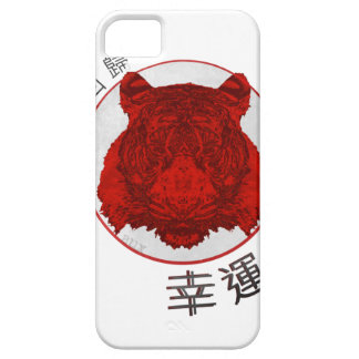 Return of The Lucky Tiger iPhone 5 Cases