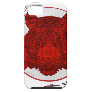 Return of The Lucky Tiger iPhone 5 Covers
