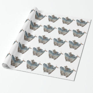 Return of The Lucky Tiger Wrapping Paper