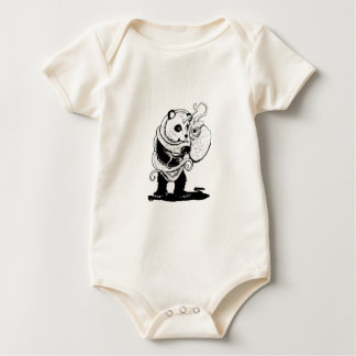 Return of the Pandacorn and octopus Baby Bodysuit