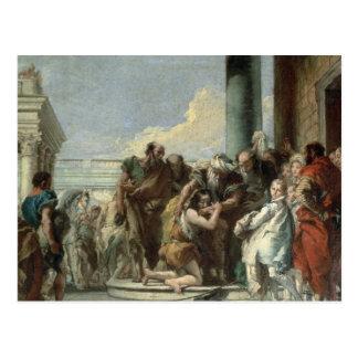 Return of the Prodigal Son, 1780 Postcard
