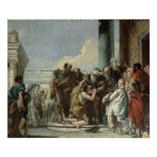 Return of the Prodigal Son, 1780 Poster