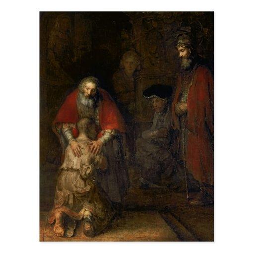 Return of the Prodigal Son, c.1668-69 Postcards