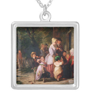 Returning from the Fair Silver Plated Necklace