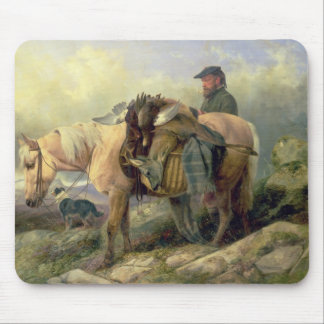 Returning from the Hill, 1868 Mouse Pad