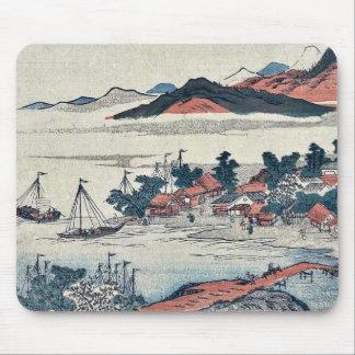 Returning sails from shores by Sekkyo,Sawa Mousepad
