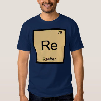 Reuben Name Chemistry Element Periodic Table T Shirts