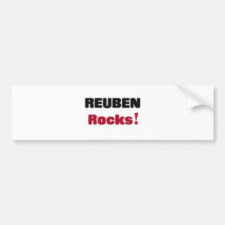 Reuben Rocks Bumper Sticker