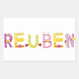Reuben Sticker