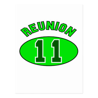Reunion 2011 in Green Post Cards