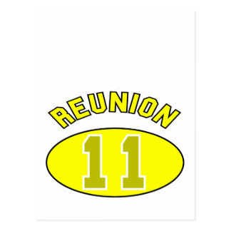 Reunion 2011 in Yellow Post Cards