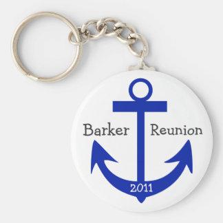 Reunion Anchor - by SRF Key Chain