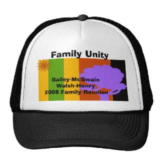Reunion, Bailey-McSwainWalsh-Henry... - Customized Cap
