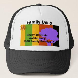 Reunion, Bailey-McSwainWalsh-Henry... - Customized Trucker Hat