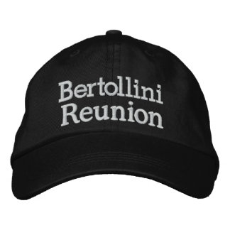 Reunion Cap Embroidered Hat