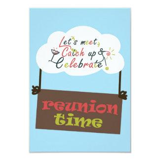 Reunion design card