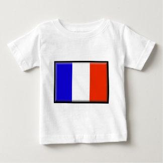 Reunion Island Flag Baby T-Shirt