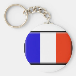 Reunion Island Flag Key Chains