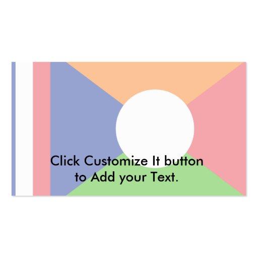 Reunion Island. (Local), France Business Card Templates