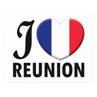 Reunion Love Postcards