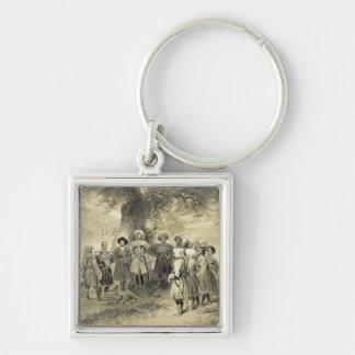 Reunion of Tcherkesse Princes, Sodja Valley, on th Key Chain