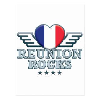 Reunion Rocks v2 Postcards