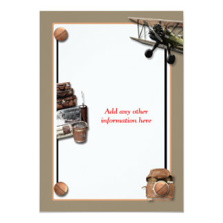 "Reunion vintage farewell ""road trip"" PERSONALIZE Personalized Announcement"