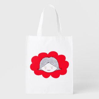 """Reusable bag """"Charlotte """" Reusable Grocery Bag"""