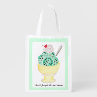 Reusable Bag - Don't Forget the Ice Cream!