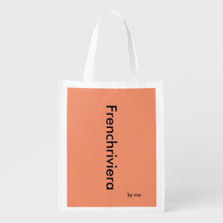 Reusable bag Frenchriviera by me