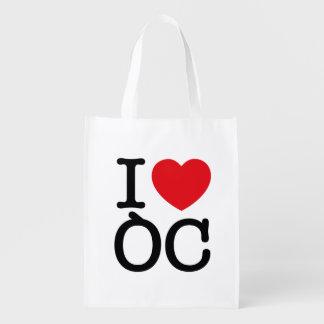 """Reusable bag """"I Coils Oc """""""