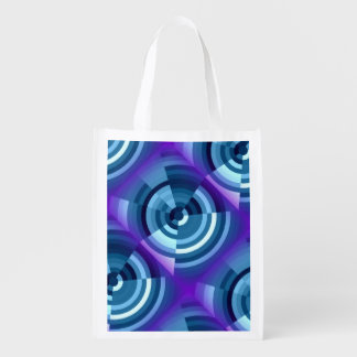Reusable Bag with Design Market Totes