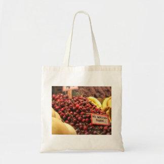 Reusable Cherry Tote Tote Bag
