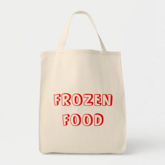 Reusable frozen food bag
