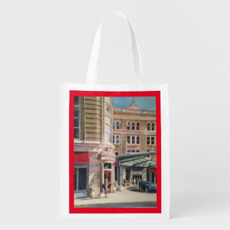 Reusable grocery bag with Rendezvous Lounge