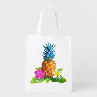 Reusable Pineapple Tote Bags